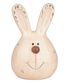 Another great find on #zulily! Large Bunny Head Décor #zulilyfinds