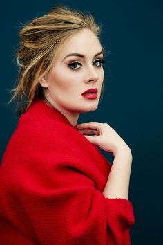 Adele com look vermelho. VISIT FOR MORE Adele com look vermelho. The post Adele com look vermelho. appeared first on Celebrities. Time Magazine, Magazine Covers, Pretty People, Beautiful People, Beautiful Voice, Beautiful Images, Adele Adkins, Portrait Photos, Beauty And Fashion