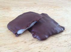 Affriolants chocolat noir et menthe fraîche coulante - La Super Supérette - Recette végétalienne - Vegan recipe