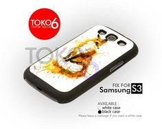 AJ 1514 Splash Watercolor Fox Design - Samsung Galaxy S III Case | toko6 - Accessories on ArtFire