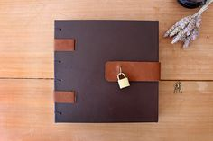 Book of Shadows #bookbinding #leather #locker #Grimoire