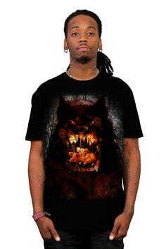 DarkTale_3Lil'Pigs & RedEyeWolf T-shirt by Studio8Worx from Design By Humans - $24