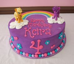 My Little Pony Cake Cakes Niki Marilou Pinterest Pony Cake My