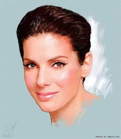Sandra Bullock, Celebrity Drawing