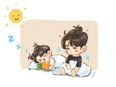 Cute Chibi, Iphone Wallpaper, Fan Art, Stickers, Cartoon, Anime, Kids, Instagram, Bright