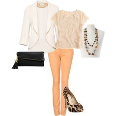 Spring!   Cant wait to receive my peach jeans <3!