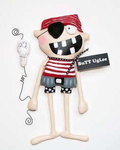 RESERVED RESERVED custom order Pirate Kid named RuM от buttuglee