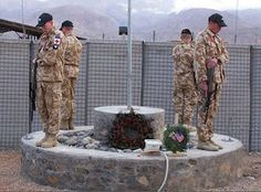 Soldiers from the New Zealand Defence Force stand Guard in Afghanistan, courtesy NZDF website