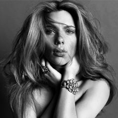 Scarlett Johansson  by Inez van Lamsweerde and Vinoodh Matadin