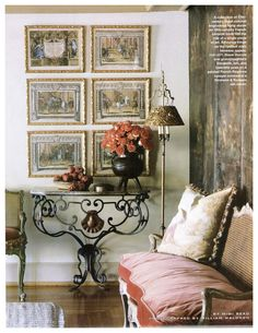 Interior Design - Lucullus - Culinary Antiques, Art and Objects Decor, Beautiful Interior Design, House Design, Decor Design, Furniture, Interior, Beautiful Interiors, French Decor, Living Spaces