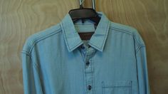 NEW Clearwater Mens Outfitters Light Blue Button down long sleeve shirt sz L #ClearwaterOutfitters #ButtonFront