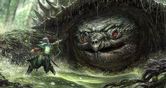 steampunktendencies:  Monster Hunter - Phuoc Quan