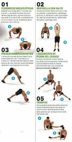 EN CASA - QUEMA LAS CALORIAS DE LOS EXCESOS EN 20 MINUTOS | Aptitud Fitness