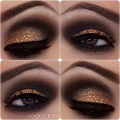Makeup for Christmas Festivities.   Maquillaje para las Festividades Navideñas. #winter #makeup #christmas #invierno #maquillaje #navidad http://www.pinterest.com/cosafresca