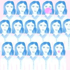 #lovebubble #animation #moving #illustration #lavieenrose listen with sound music by Daniela Andrade @danielasings