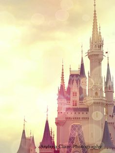 Disney World, Cinderella Castle, 9x12, Print, Photograph, Photo, Princess, Magic, Childrens, Gift, Nursery, Story, Adventure, Once Upon