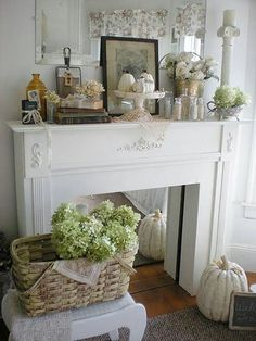 Stand alone Mantel with a mirror insert. Put the look of a quaint fireplace in a room without a fireplace. Stand alone Mantel with a mirror insert. Put the look of a quaint fireplace in a room without a fireplace. Faux Mantle, Fake Fireplace, Country Fireplace, Simple Fireplace, Fireplace Kitchen, Fireplace Garden, Fireplace Shelves, Shiplap Fireplace, Limestone Fireplace