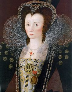 Dorothy, Lady Dormer by Marcus Gheeraerts the Younger, c. 1596 Via andonnis:tumblr