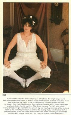 It's #ThrowbackThursday! We're in love with the editorial from the early 1980s, which featured Hanky Panky lingerie in larger sizes! #TBT