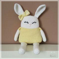 Los Productos de Ruca's: Helena, una dulce conejita amigurumi (patrón gratuito)