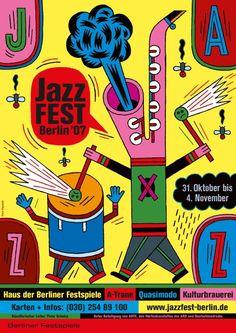 Henning Wagenbreth, Jazzfest Berlin, 2007