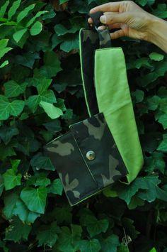 Cinturone con tasca Mimetica