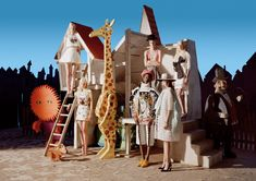 Babes in Toyland - Dior Haute Couture dress and pumps tim walker mar 2014 w mag