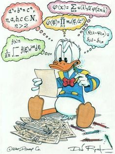 Donald is trying to make some sense of it all ✶