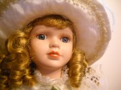 Victorian Ceramic Doll/Collectable Doll/ Ceramic by TamiAndDani, $15.99