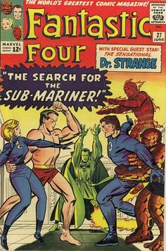 COMIC fantastic four 27 #comic #cover #art