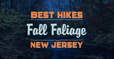 The best fall foliage hikes in New Jersey. Average peak color in NJ is October 19 - 29.