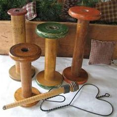 images about Wooden spools Wooden spools