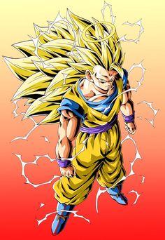 Goku by Youngjijii Goku Super, Dragon Ball Gt, Dragon Art, Art Anime, Manga Anime, Dragon Ball Z Iphone Wallpaper, Ssj3, Drawings, Geek