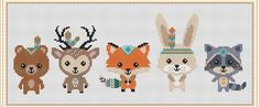 It's awe-inspiring! Try these 20 inspiring ideas all pertaining to Cross Stitching, Cross Stitch Embroidery, Cross Stitch Patterns, Cross Stitch Baby, Cross Stitch Animals, Manta Animal, Baby Pattern, Tribal Animals, Nursery Patterns