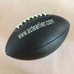 Rugby Sports Official Size 9 Black Color American Football Rugby Ball For  Training Match Entertainment Toy 305f63936c9