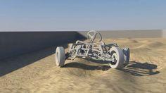 Dynamic car Rig in maya - Tests