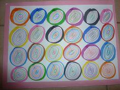 Ma petite maternelle: Atelier graphisme GS #2 Kandinsky, Kids Office, Sick Kids, Elements Of Art, Art Plastique, Fine Motor Skills, Diy For Kids, Coloring Pages, Kindergarten