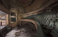 Campaign launched to save Burnley's Empire Theatre Forgotten Treasures, Burnley, New Art, Abandoned, Theatre, Restoration, Empire, Stage, Campaign