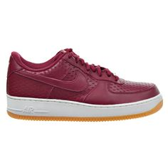 Nike Air Force 1 '07 Premium Women's Shoes Noble Red 616725-600 -- Startling review available here  : Basketball shoes