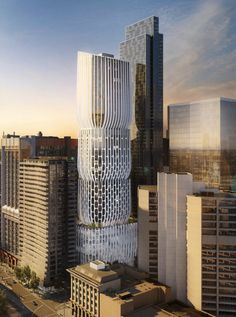 "Gallery - Zaha Hadid's First Tower in Melbourne Described as a Series of ""Stacked Vases"" - 1"