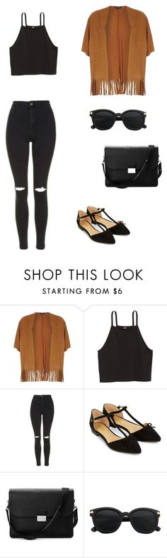 """""""Untitled #41"""" by bleona-ermonda on Polyvore featuring Dorothy Perkins, Topshop, Accessorize and Aspinal of London"""