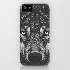 Wolf iPhone & iPod Case by ohzemesmo - $35.00