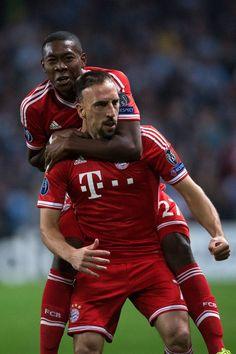 Manchester City 1-3 Bayern Munich on 10/02/2013