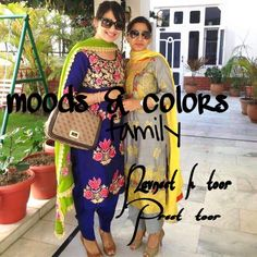 Hand Painted Dress, Painted Clothes, Designer Punjabi Suits, Indian Designer Wear, Boutique Suits, Punjabi Fashion, Punjabi Dress, Designer Party Wear Dresses, Embroidery Suits Design