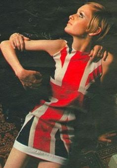 Twiggy and the British 'Invasion',  1960's.