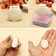 Mochi Mouse Rat Squishy Squeeze Cute Healing Toy Kawaii Collection Stress Reliever Gift Decor