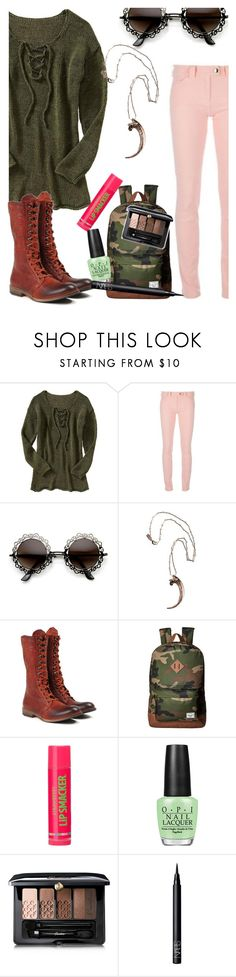 """""""oh what a night!"""" by elliewriter ❤ liked on Polyvore featuring Old Navy, Balenciaga, Pamela Love, Zeha Berlin, Herschel Supply Co., OPI, Guerlain, NARS Cosmetics and elliesSoCalledLife"""