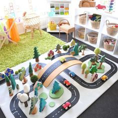 The Road, Small World Play, Have A Great Day, Your Child, Sunny Days, Playroom, Toys, Instagram Repost, Table Decorations