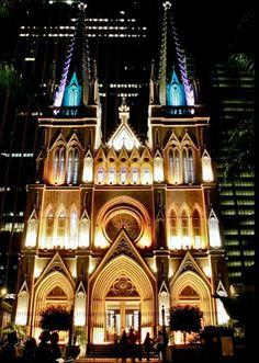 Catedral Presbiteriana: imponência no Centro da cidade do Rio de Janeiro.  Foto: Pedro Kirilos/Riotur
