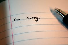 Thoughts and Questions from Aramis Thorn: Sorry Is Not Good Enough – In Place of Compassion Sorry For Hurting You, Sorry I Hurt You, I'm Sorry, Quotes For Him, Be Yourself Quotes, Love Quotes, Tattoo Name Fonts, Tattoo Quotes, Daily Use Words